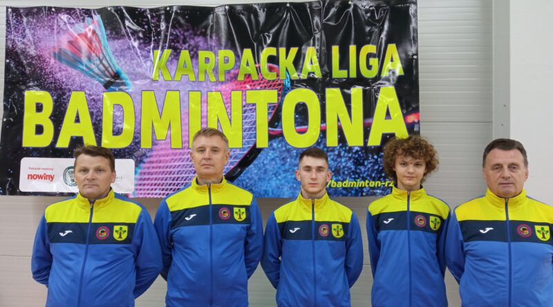 Druga runda Karpackiej Ligi Badmintona w Tarnowie.