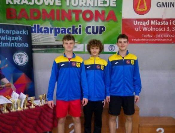 """Krajowy Turniej Młodzików i Juniorów Młodszych w badmintonie z cyklu """"Podkarpacki Cup 2021""""."""